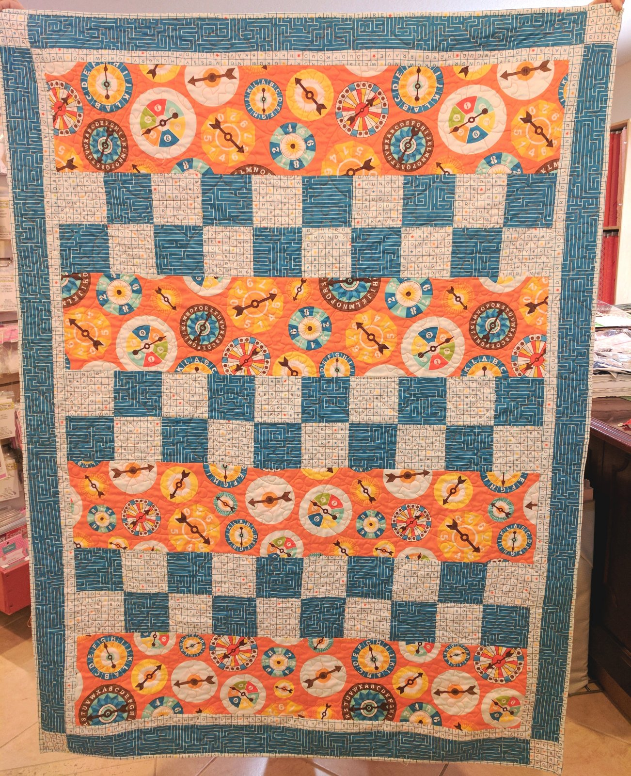 Checkmate 3 Yd Quilt Kit