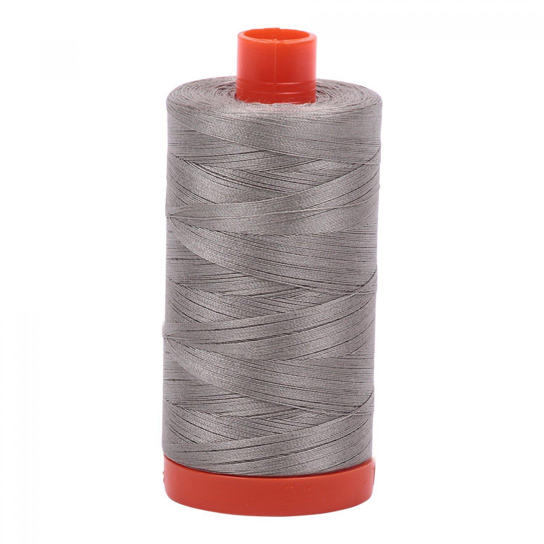 50 wt Aurifil - 6732 Earl Grey Solid*