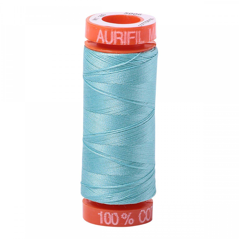 50 wt Aurifil - AS5006  Lt. Turquoise*