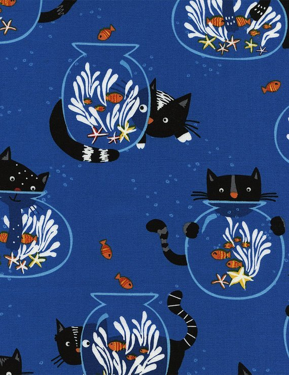 Blue Cats and Fishbowls
