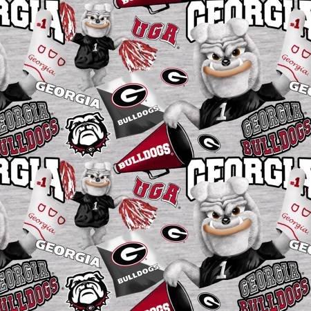 Georgia Bulldog Gray (Digital)