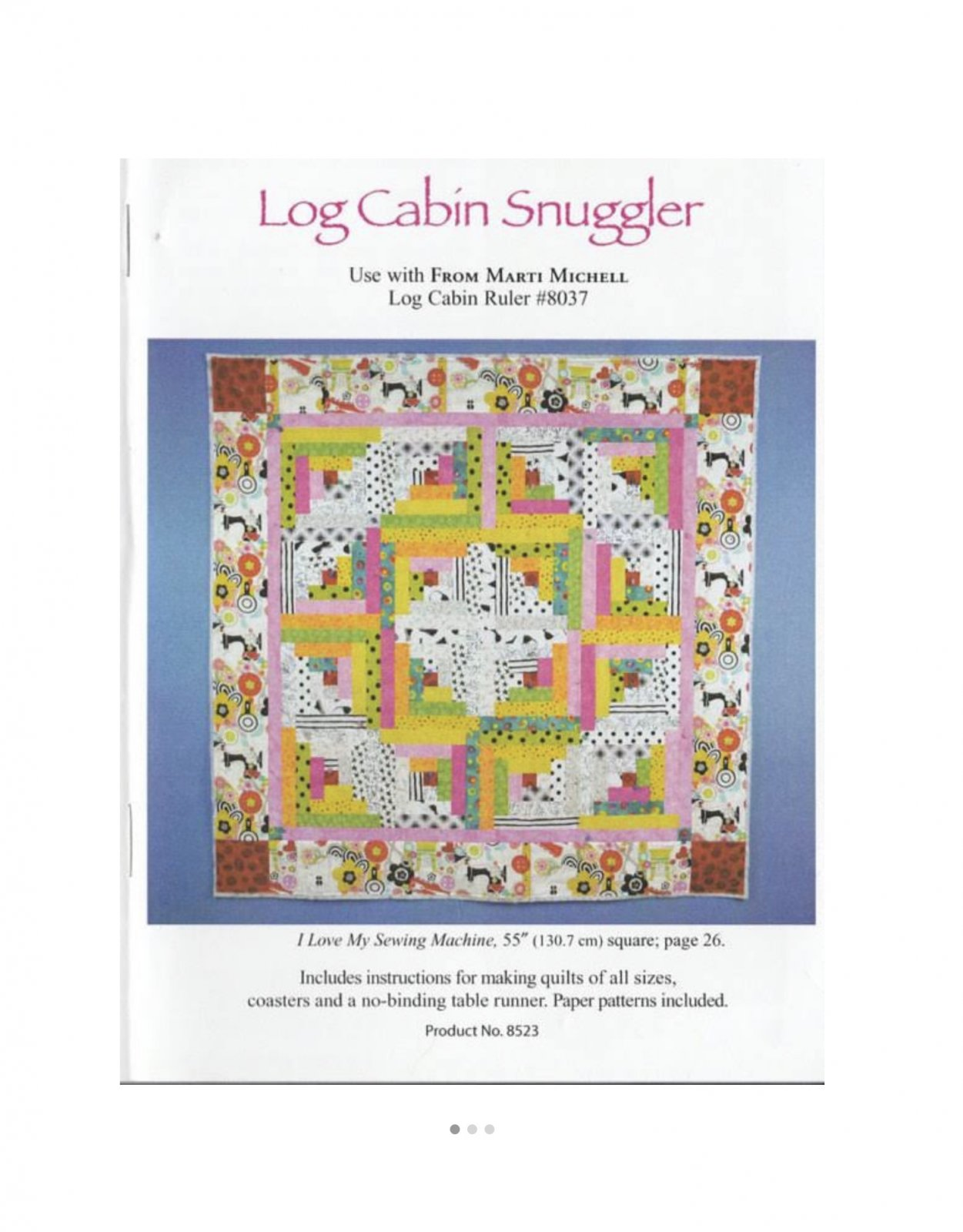 MM Log Cabin Snuggler
