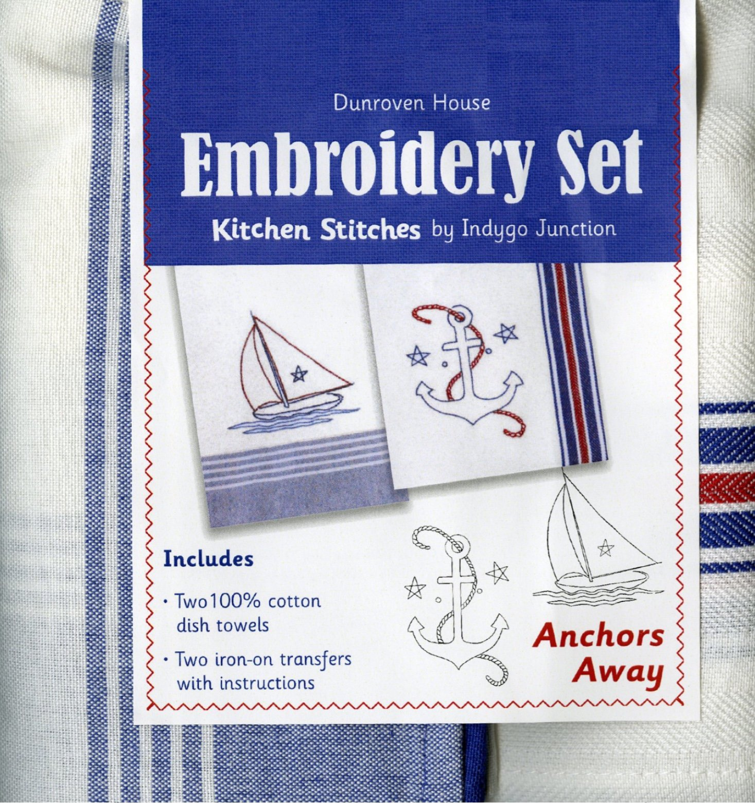 EMB Kit  2 TWWL Anchors Away