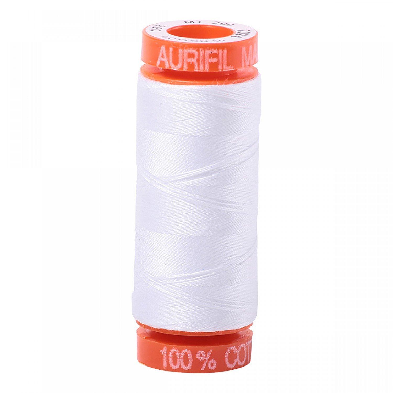 50 wt Aurifil - AS2024 White