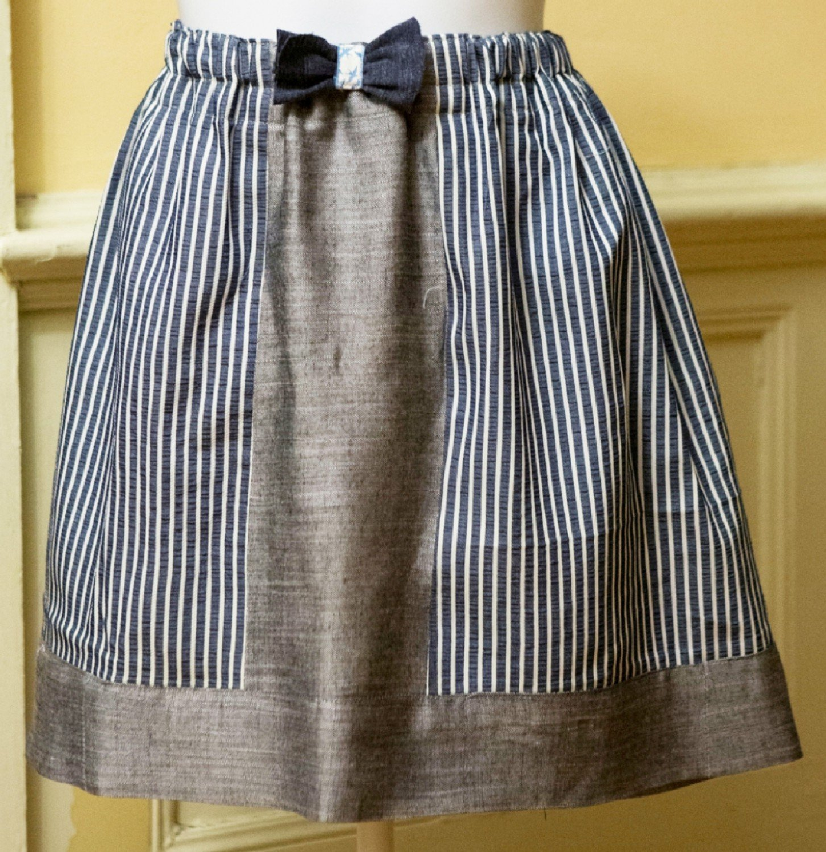 CLP - FQ Color Block Skirt