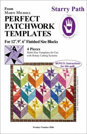 MM Multi Size Starry Path Templates