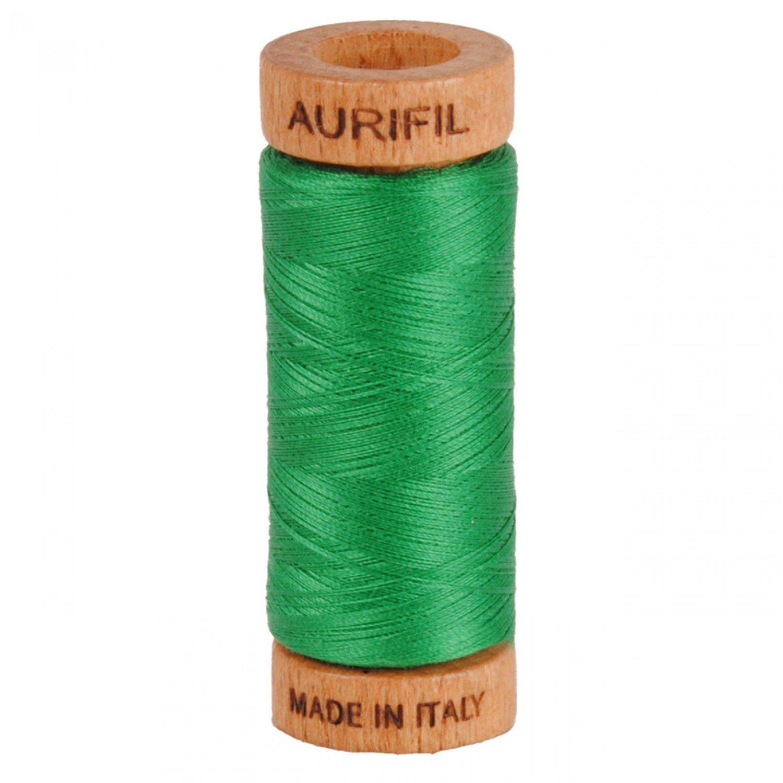 80 wt Aurifil - 2870 Green