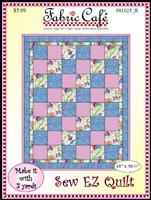 Sew EZ - 3 Yd Quilt Pattern