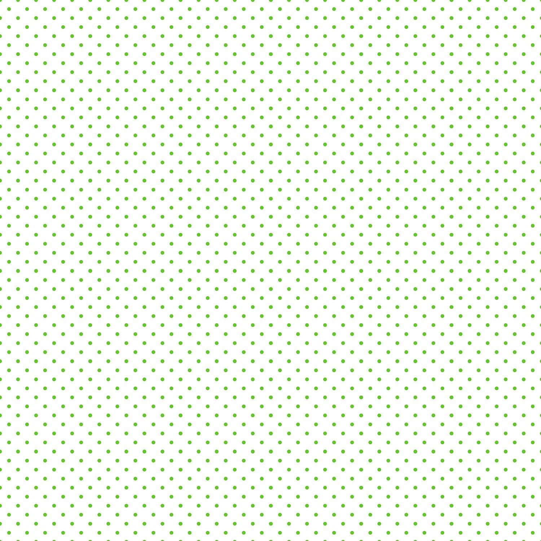 Clover Swiss Dot on White
