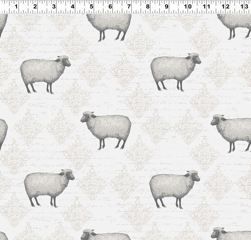 Mist Grey Toile Sheep