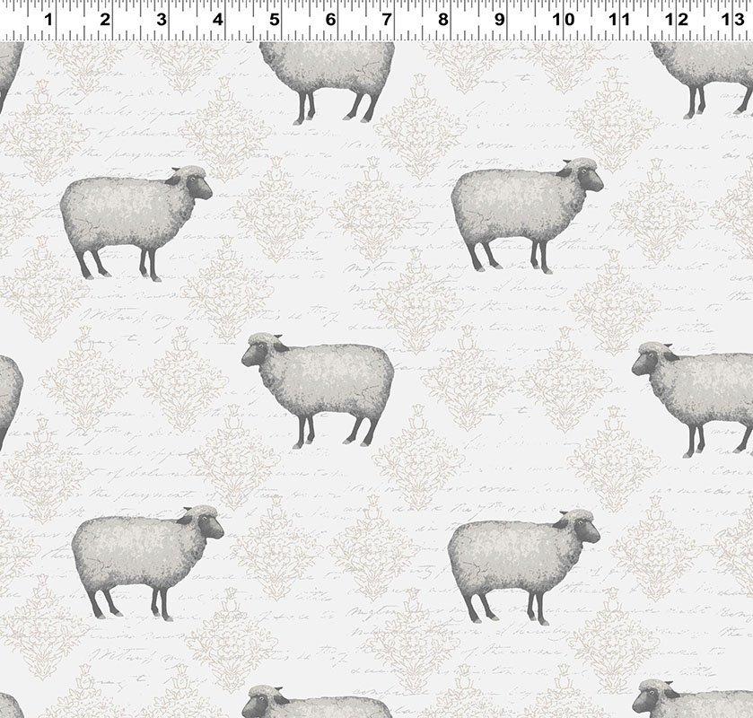 Mist Grey Toile Sheep