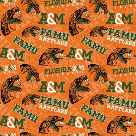 Florida A&M Rattlers Tone on Tone