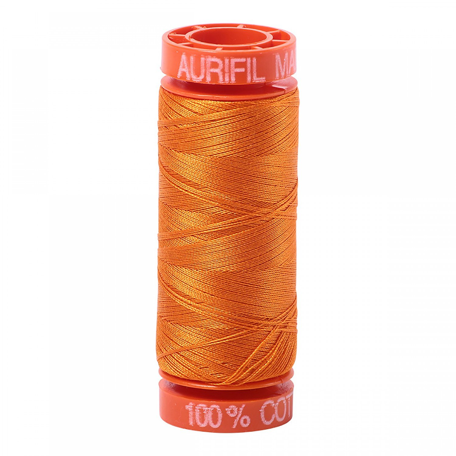 50 wt Aurifil - AS1133 Bright Orange (D)