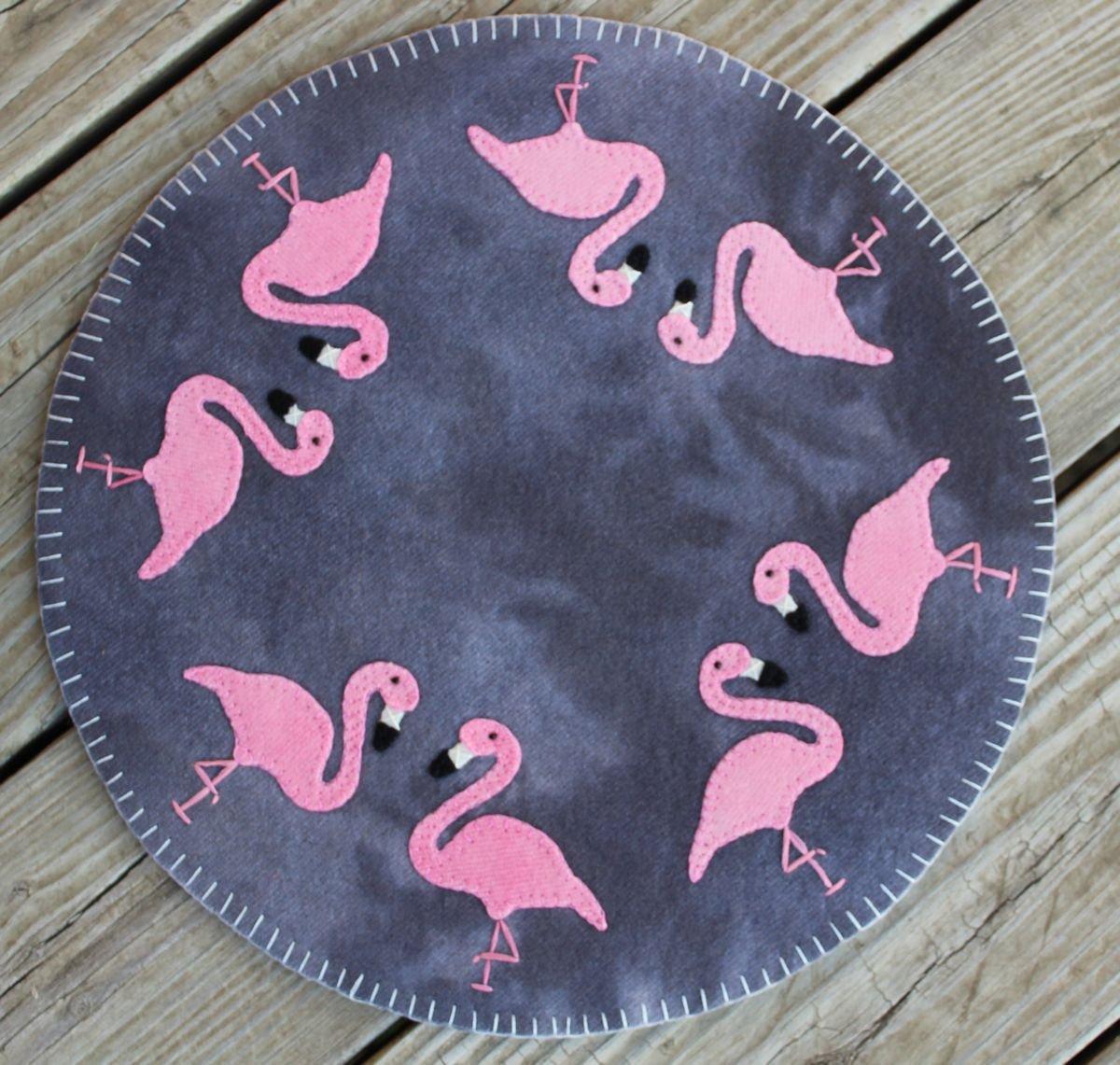 Flamingo Fun Wool Kit