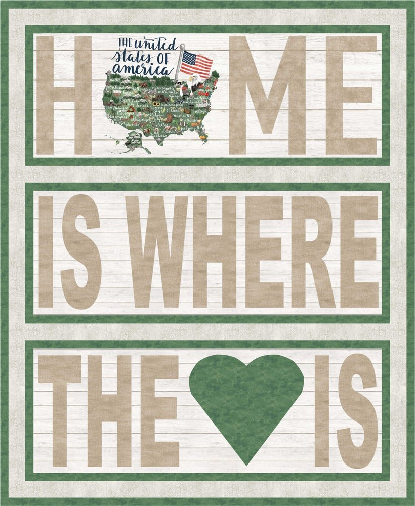 QK -  My Home State Quilt Kit