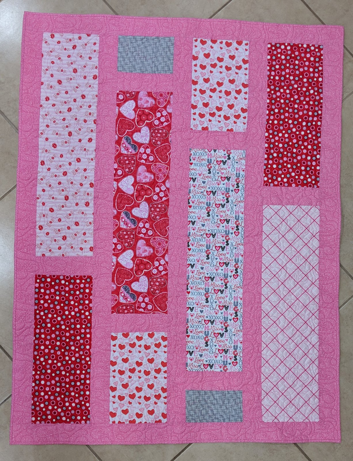 Sweethearts Quilt Kit