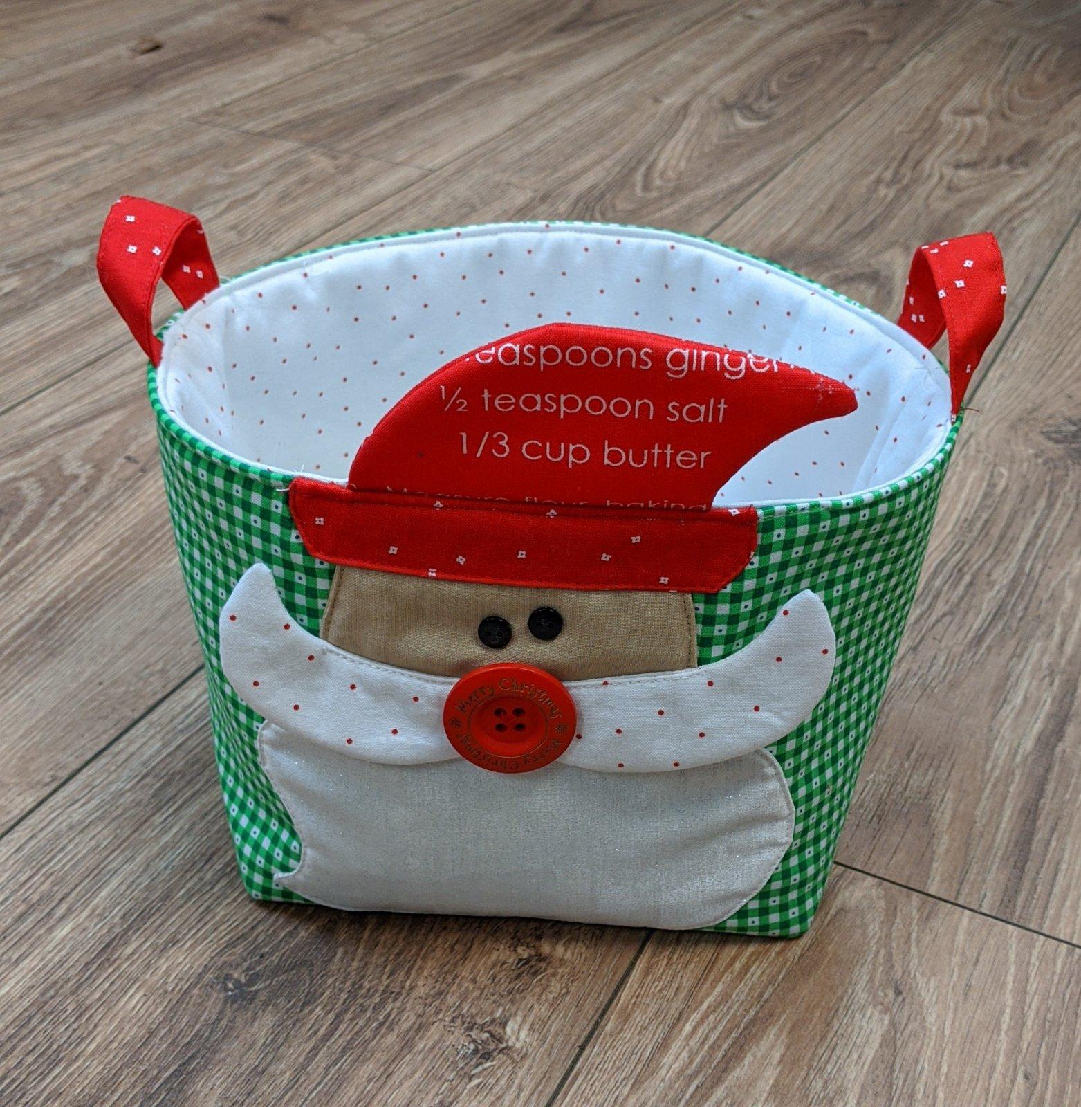Holiday Basket Santa Kit