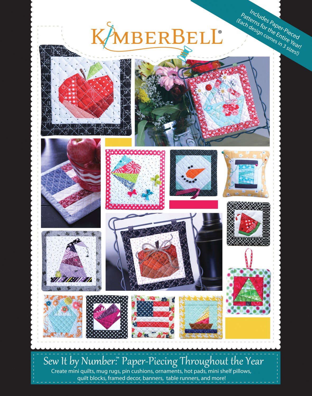 Kimberbell : Sew It by Number: Paper-Piecing Throughout the Year