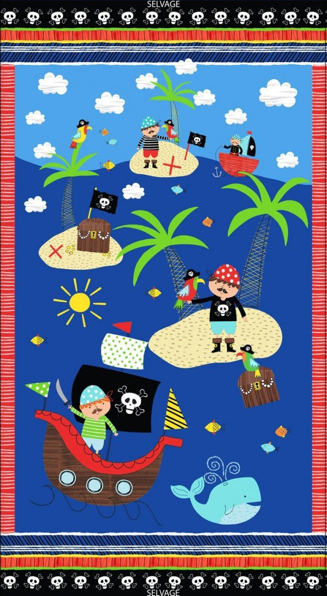 Treasure Island 24 Panel