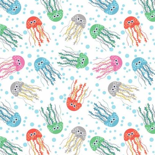 SeaBuddies  - JellyFish on White