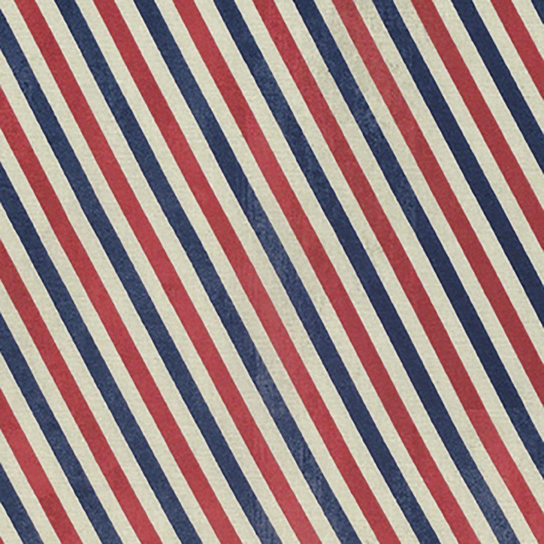 Tim Holtz Correspondence - Red Postal Stripe