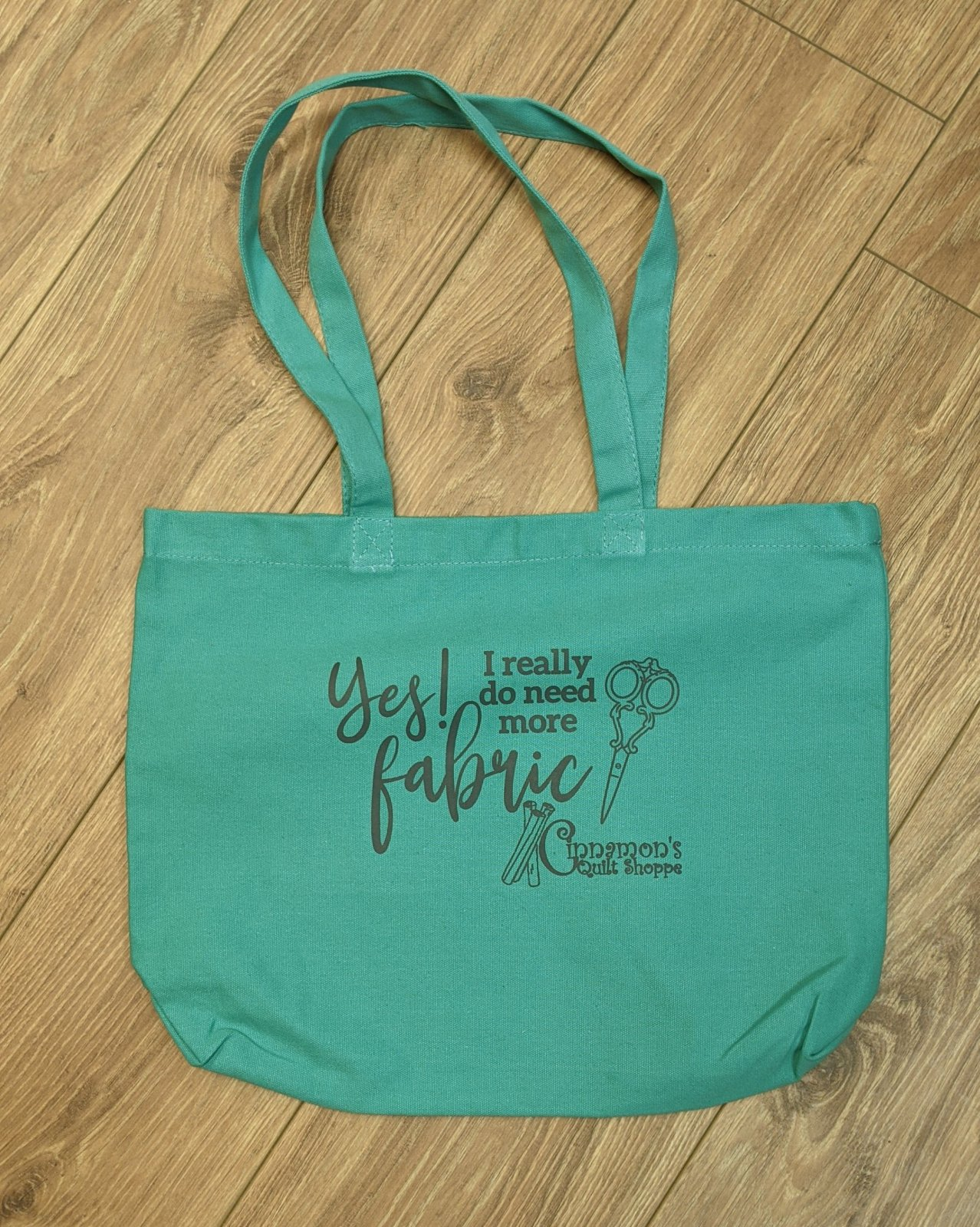 Yes More Fabric Tote Bag