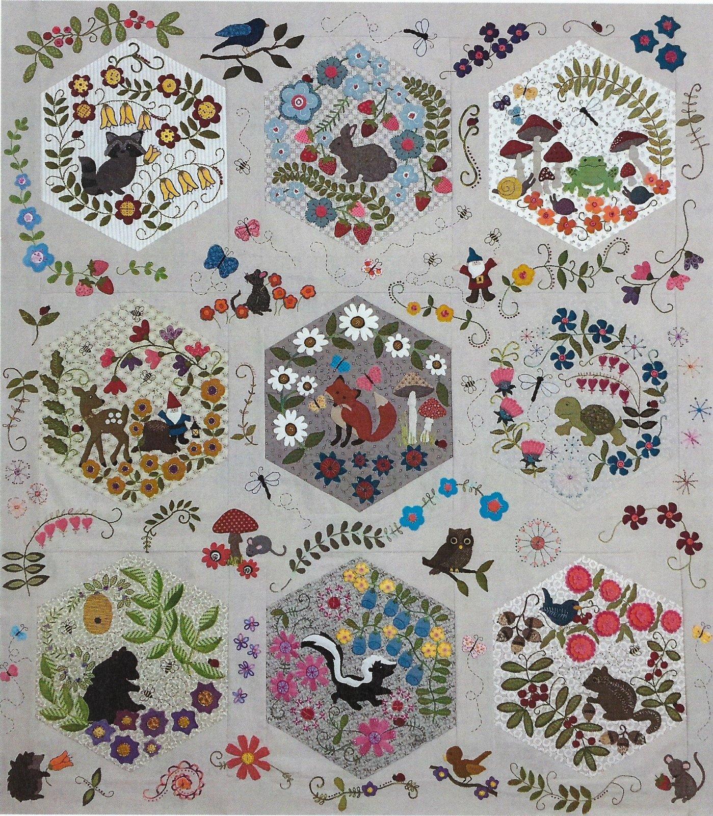 Woodland Whimsy Pattern Set