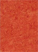 Batik 105 - Red Orange
