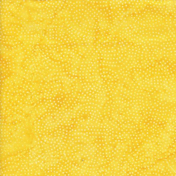 Batik - Swirl Dot - Yellow