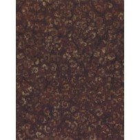 Batik - Whimsical Curls Brown