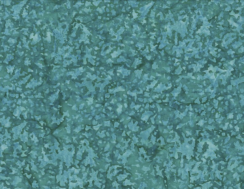 Batik -  Water Spots Teal
