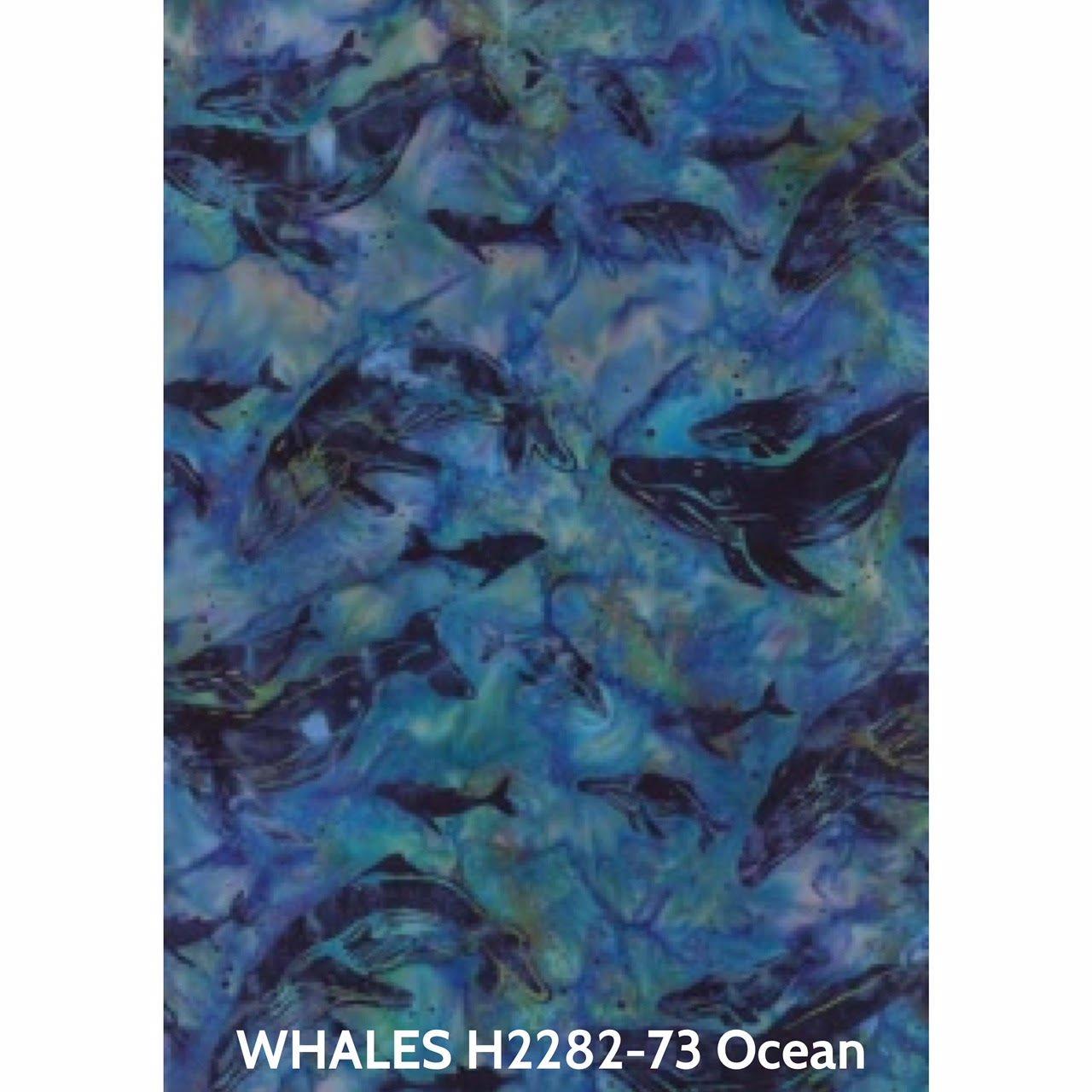 Batik - Humpback Whales Ocean
