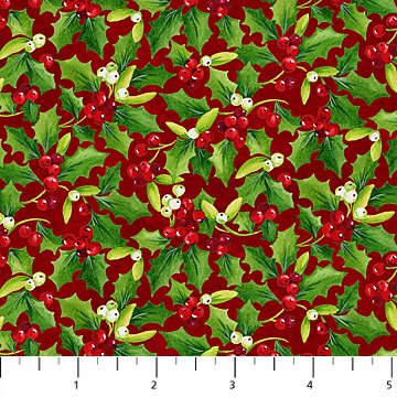 Christmas Delivery - Holly Red