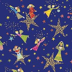 Holiday Minis  - Angels & Stars Royal