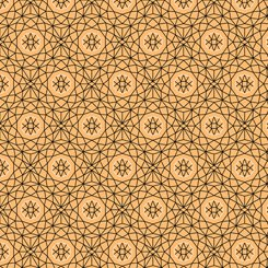 Whisper - Geometric Medium Gold