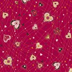 With Love - Medium Hearts Red