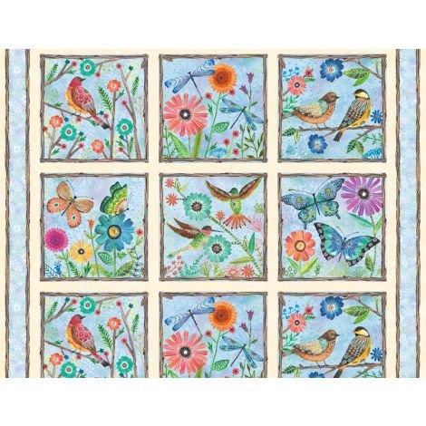 Floral Flight - Panel