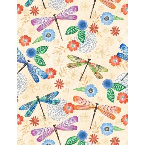 Floral Flight - Dragonfly A/O Cream