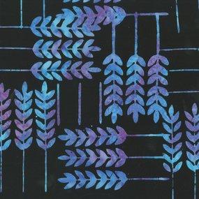 Batik - Allure Leaf Purple