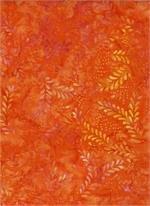 Batik - Remnants of Summer Orange