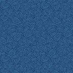 Butterfly Forest - Wings Tonal - Dark Blue