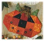 Espresso Fabric Kit - Pumpkin