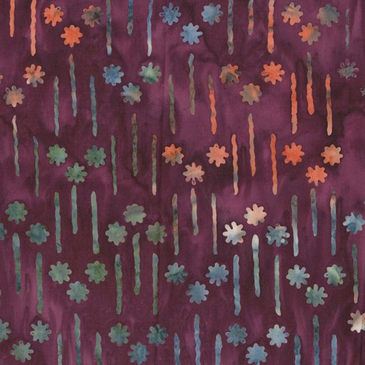 Batik - Flower Dash - Multi