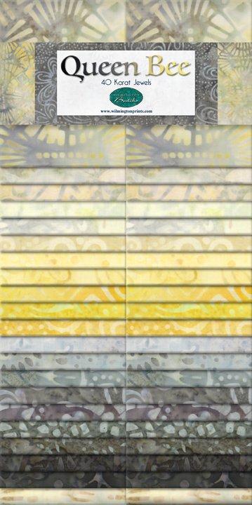 Queen Bee - 2 1/2 strips
