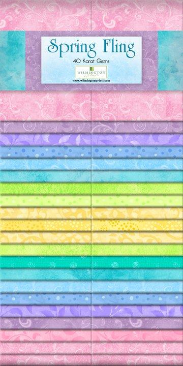 Spring Fling - 2 1/2 strips