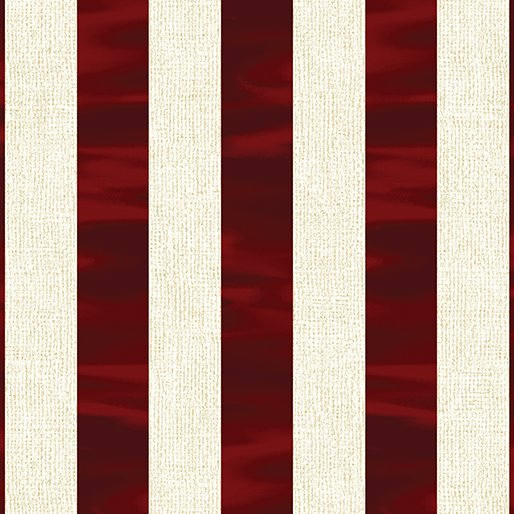 Channel Stripe - Red/White