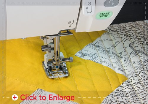 Janome AcuFeed Piecing Foot