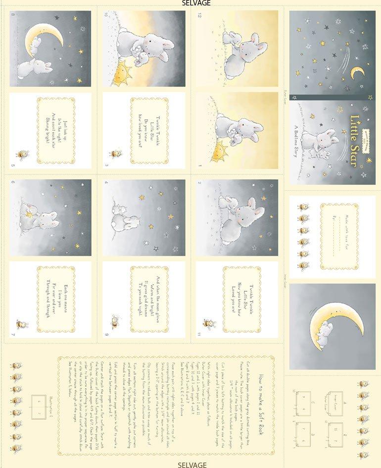 Bunny Soft Book Panel