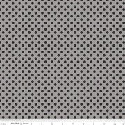 Dots Tone Black on Gray