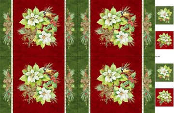 Deck the Halls - Placemat Panel